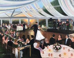 Baltimore Wedding Painting