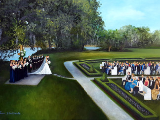 Gainey/Swist Wedding Painting