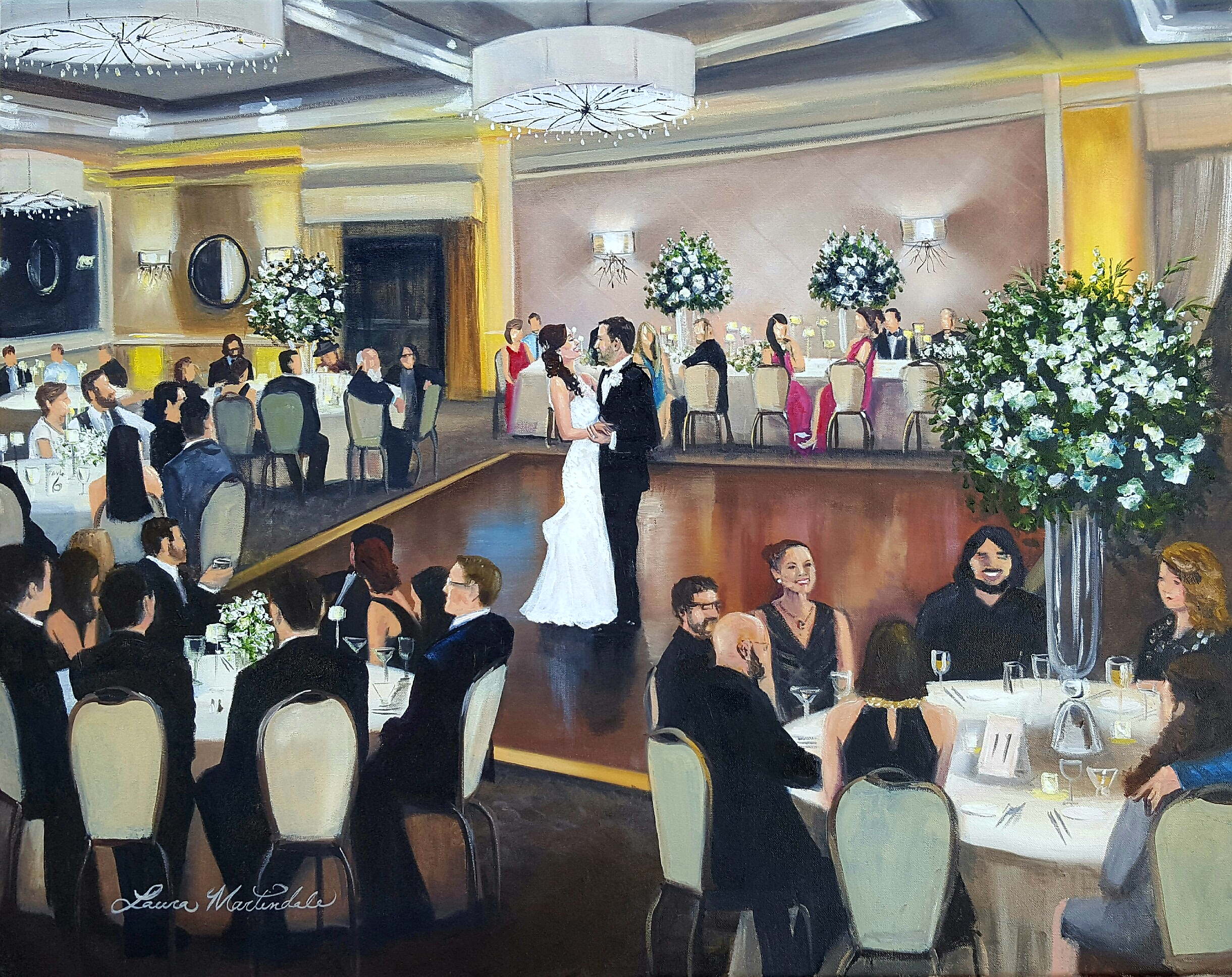The Briar Club Wedding Reception