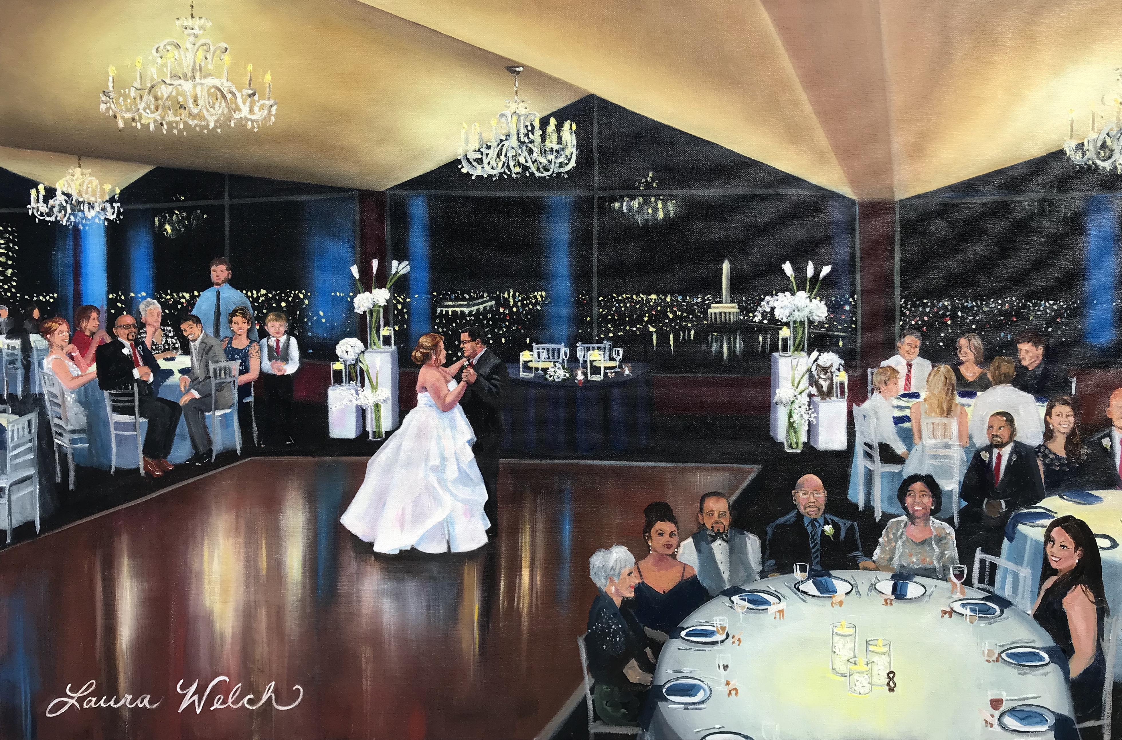 DC Wedding Painting