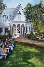 Wedding painting in Bluffton, SC
