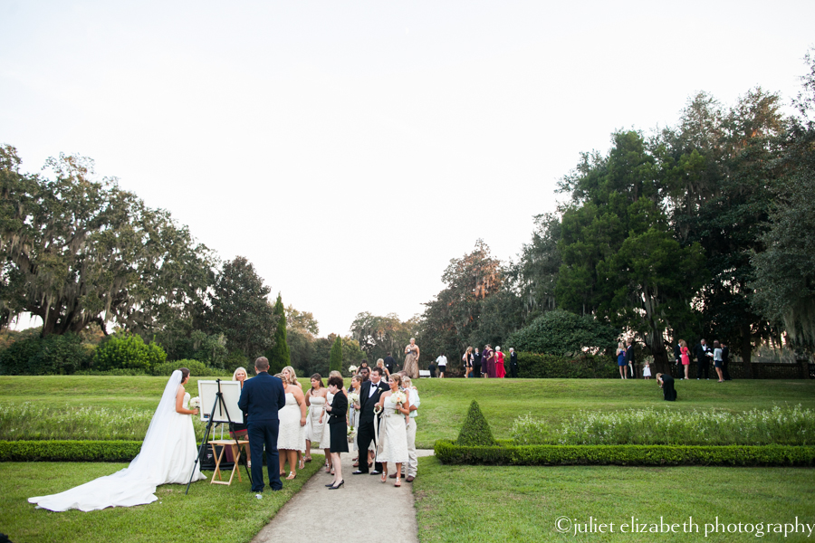 Middleton Plantation wedding