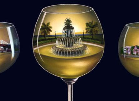 Three Glasses of Charleston