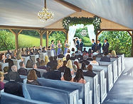 luxury wedding painting