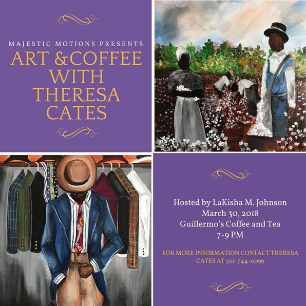 This Friday: Art & Coffee with Theresa Cates