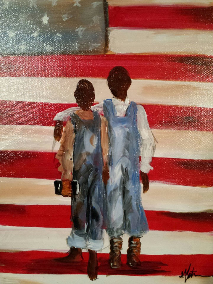 I am my brothers keeper 11x14