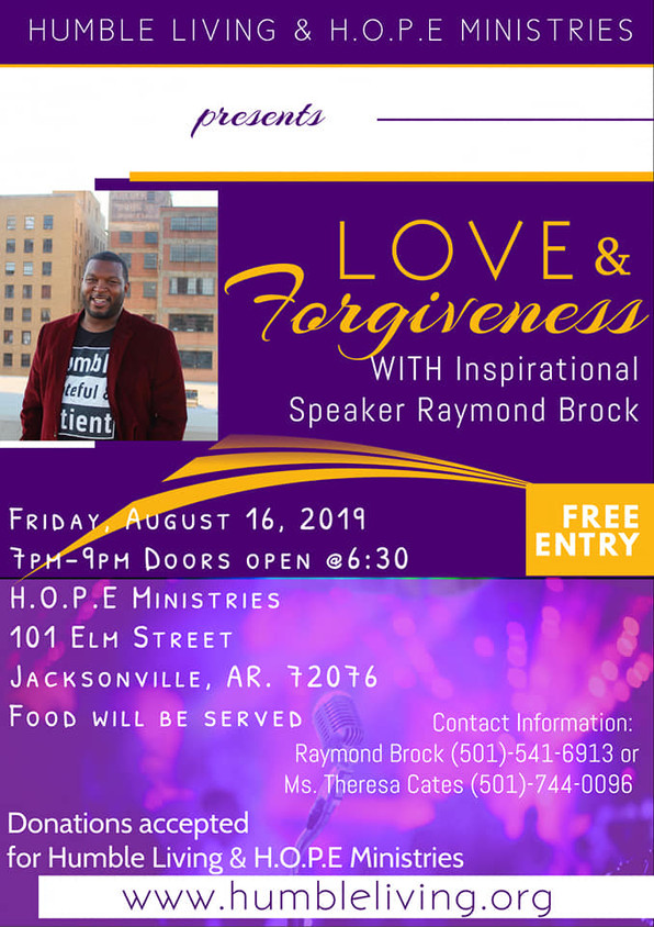 Join Me Tomorrow: Love & Forgiveness