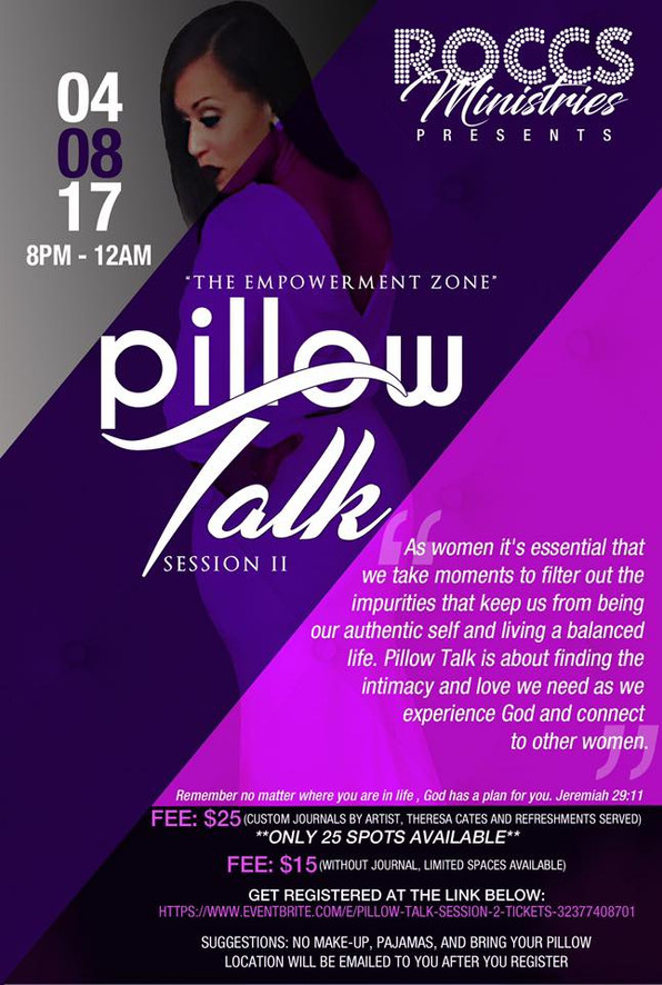Supporting LaKisha Johnson: Pillow Talk