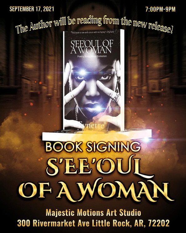Seeoul Of A Woman Book Signing Event