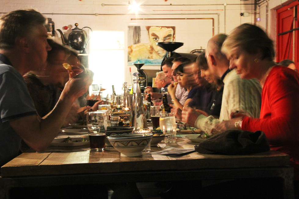 Coopers goes exploring…. Pop up Syrian night.