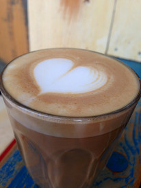 #COFFEE - The Queen Cortado - Lacey's milk is her final kiss.
