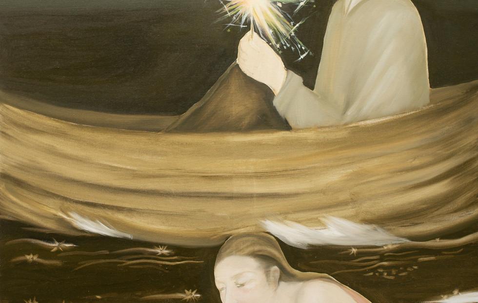 ტილო, ზეთი / oil on canvas / 160x120cm / 2021