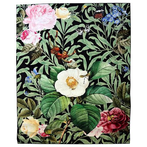 Bungee Jumping in Flowers Carpet