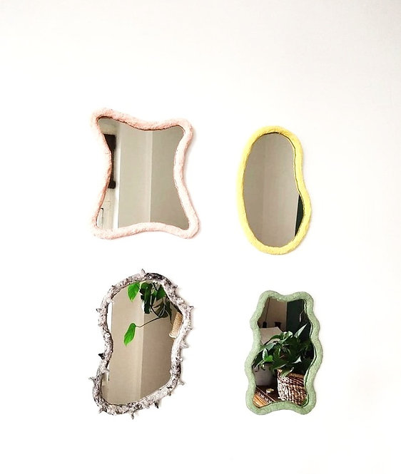 Azurite mirrors