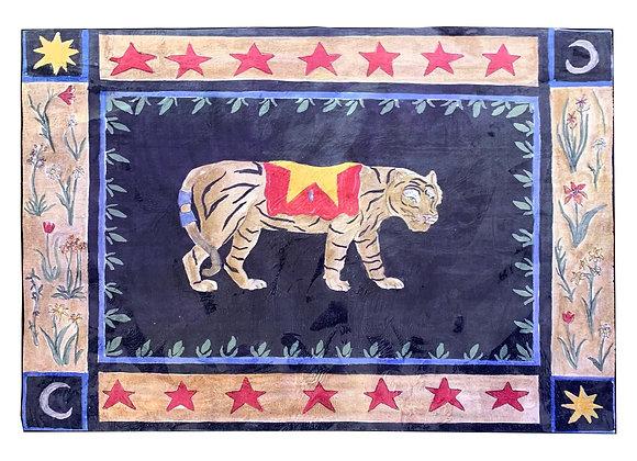 Starboy tiger rug
