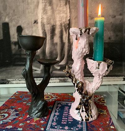 ceramic candle stick