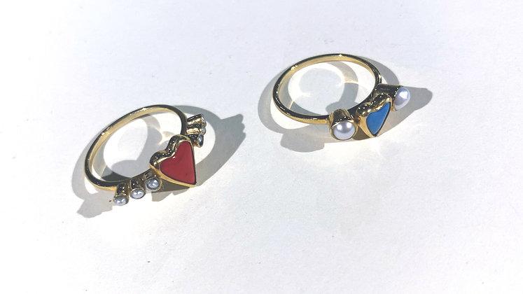 Sweetest Heart Rings by Kato Nemsadze