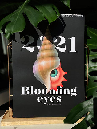 Blooming Eyes Calendar