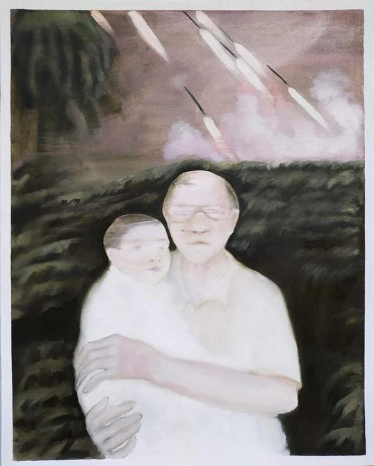 Oil on canvas, 100x80cm