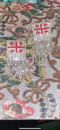 🇬🇪 earrings by ZARQUA