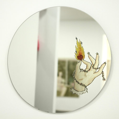 Fire Walk with Me Mirror
