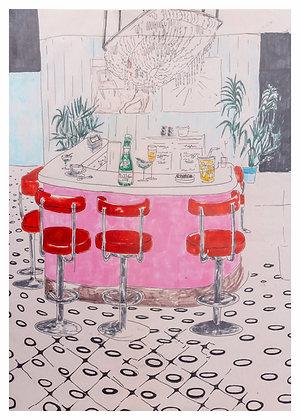 CAFE STAMBA illustrations