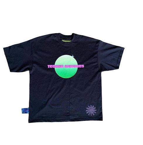 GOLADAMIAN - Techno Aerobics T-shirt