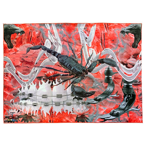 Scorpion Good Teeth Rug