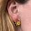 Thumbnail: Yellow flower earrings