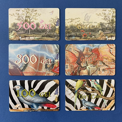 GIFT CARDS / სასაჩუქრე ბარათები