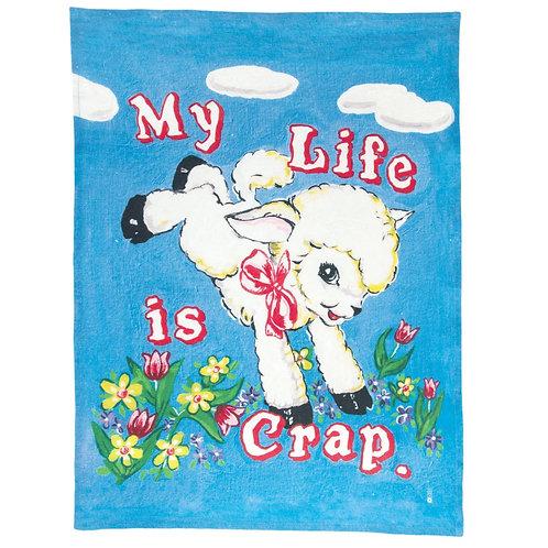 My Life Is Crap Tea Towel x Magda Archer
