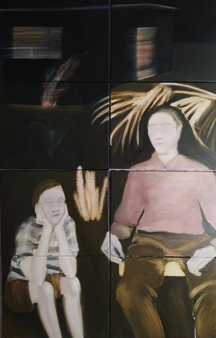 Oil on canvas, 160x100cm