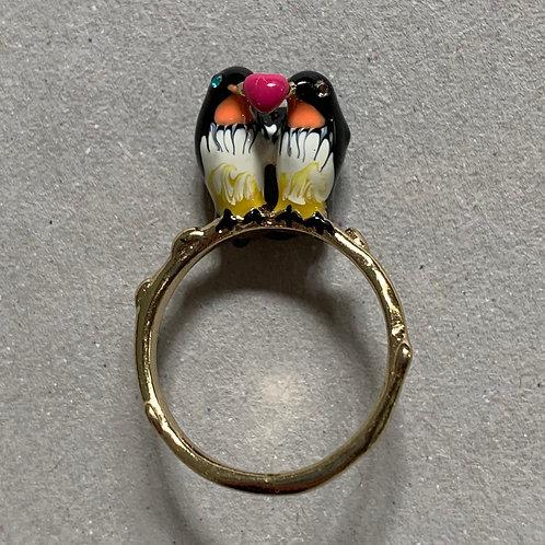 Lovely birds ring