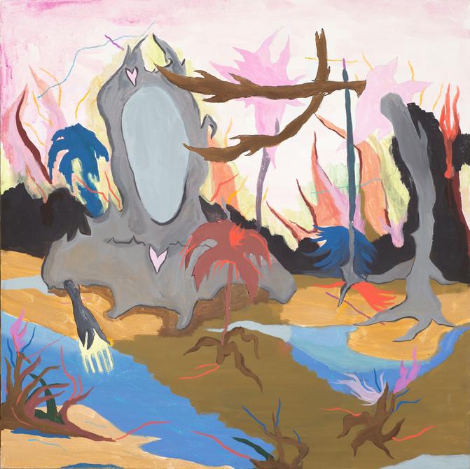 Acrilic on canvas, 100x100cm