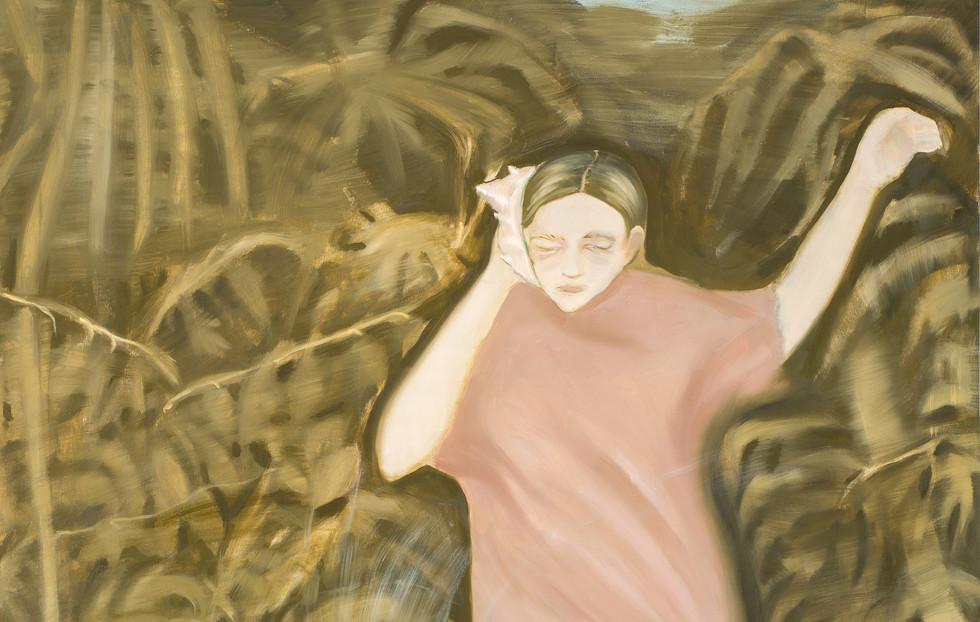 ტილო, ზეთი / oil on canvas / 180x110cm