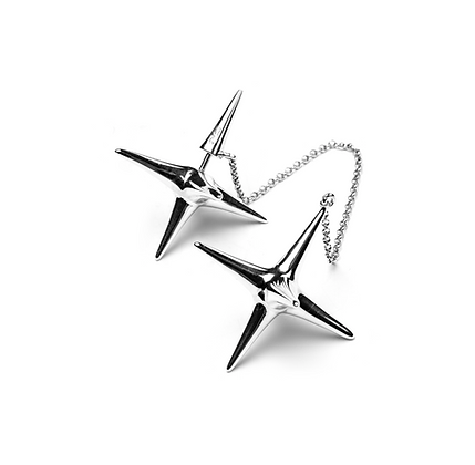 STAR and THORN earrings set