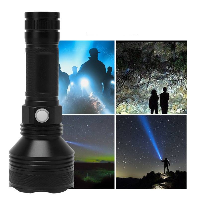 XHP50(858)  WATERPROOF OUTDOOR CAMPING HUNTING TORCH LAMP