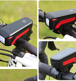 7599 MICRO USB CHARGING SPEAKER BICYCLE LIGHT