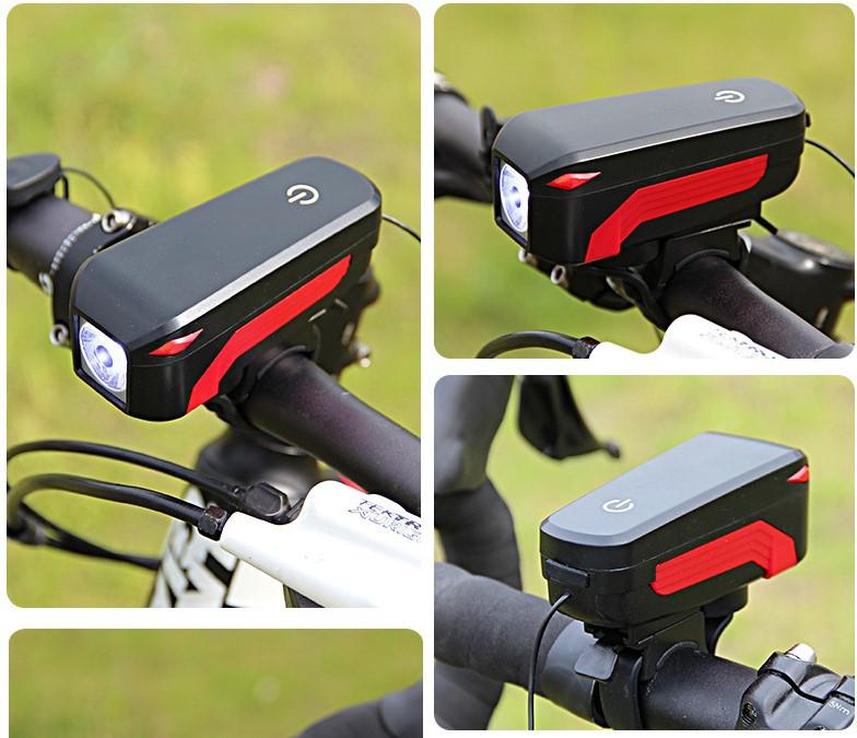 7599 MICRO USB CHARGING SPEAKER BICYCLE LIGHT