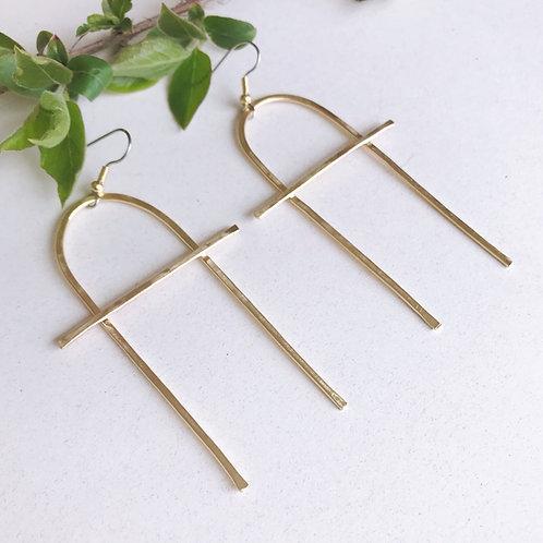 Simple Balance Earrings