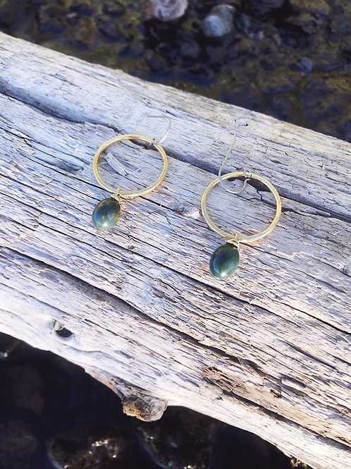 Bloodstone Mini Hoops