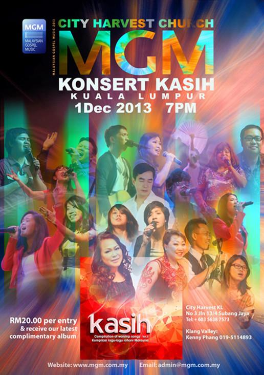 2013 Kasih Poster