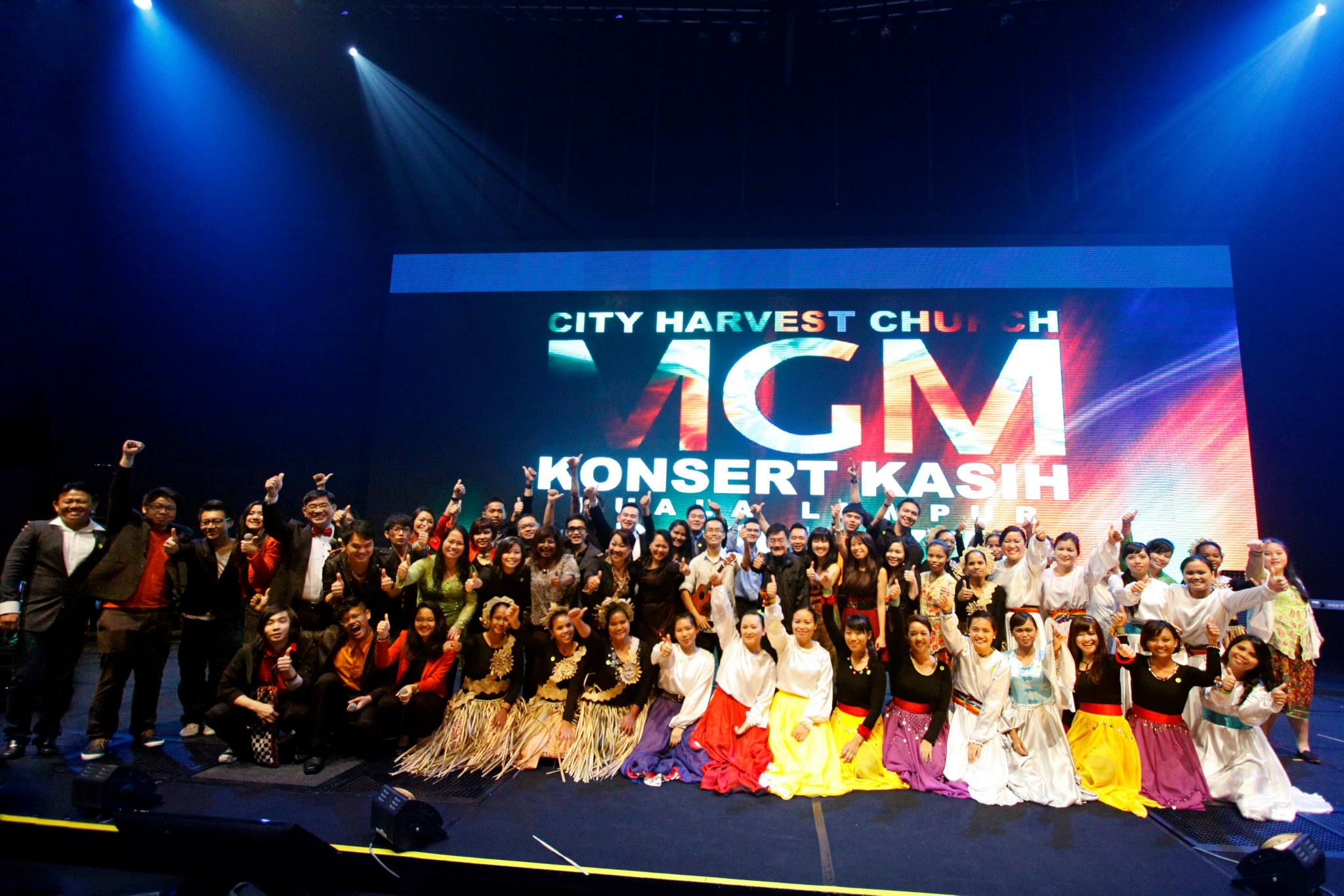 KL concert 2013 Group Photo