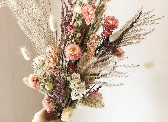 boeket droogbloemen