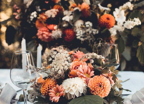tafelstyling met bloemen