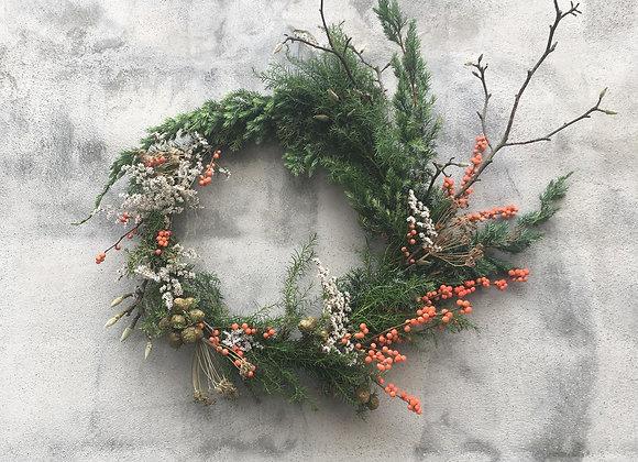 Wreath winter