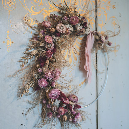 DIY pakket wreath