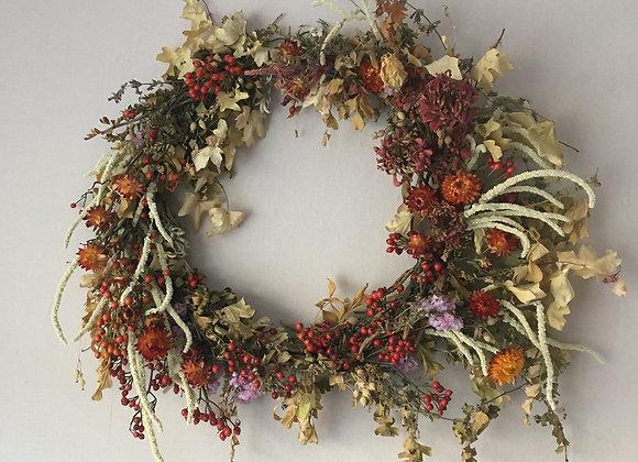 Wreath herfst