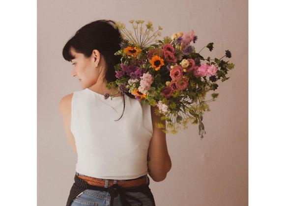 Boeket verse bloemen