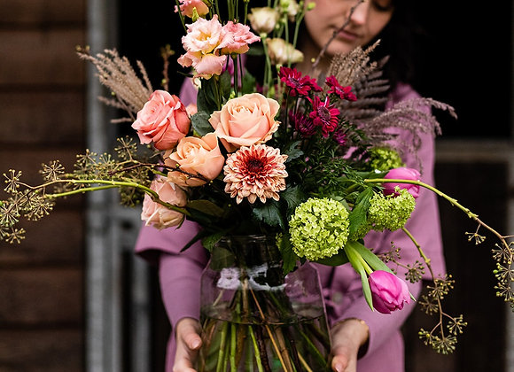 Bloemen abonnement zakelijk Gent